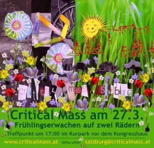 Critical Mass Salzburg März 09