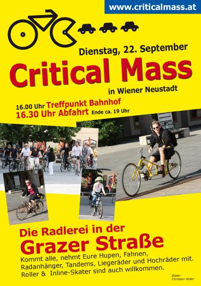 Critical Mass 22. Sept. 2009